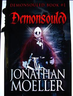 Portada del libro Demonsouled, de Jonathan Moeller