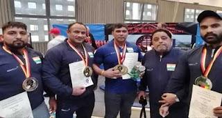 Surender Singh creates three World Records