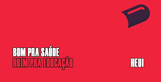 Bom pra Saude, ruim pra educação é o novo EP de Harri (HEUI)