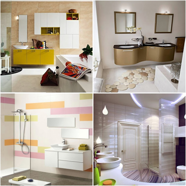 Elegant And New Bathroom Decors For A More Glossy Bath