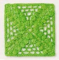 Patron #1232: Carpetita a Crochet