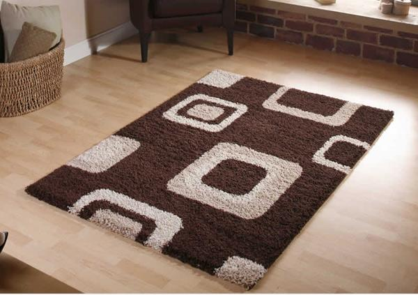 Karpet terbuat dari bahan serat yang berbeda Inspirasi Karpet Unik Dengan Pola Modern Dengan Penataan Yang Simpel