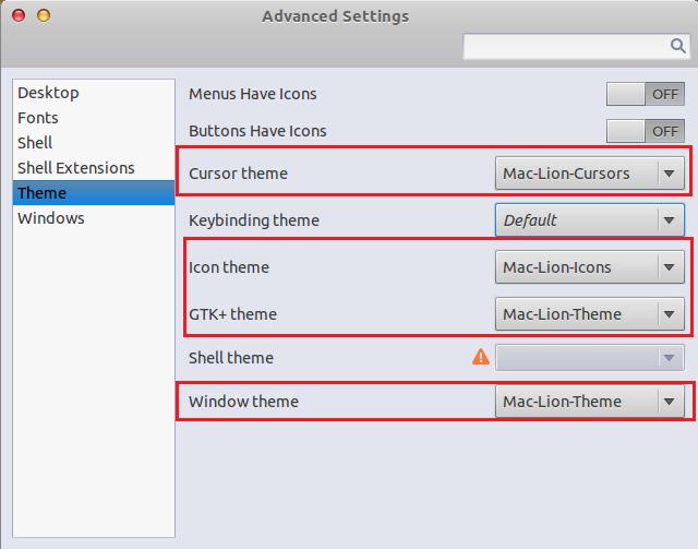 How To Install The GTK3 Mac OS X Lion Theme On Ubuntu 11 10