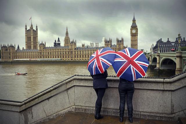 Chuva em Londres