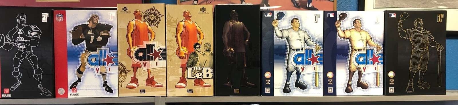 Sports Cards Plus has purchased a large collection of the very first Upper  Deck All-Star Vinyl Series Figures. The Lebron James Figures were from the  very ... b670daff6