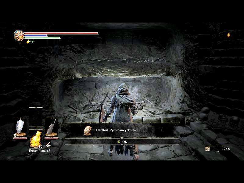 LightningXII World Gamer: บทสรุป Dark Souls 3 - Catacombs of Carthus