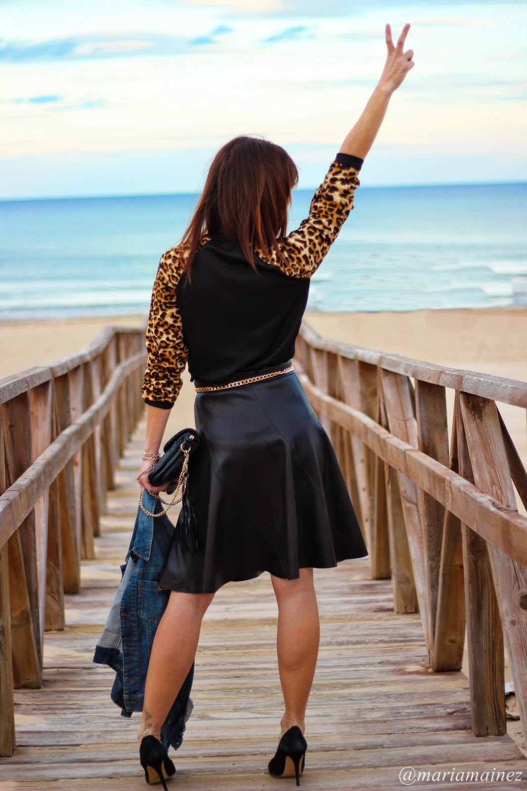 Leather look - Streetstyle - Black and gold - Bbeautiful by Maria - Pepe Moll Bags