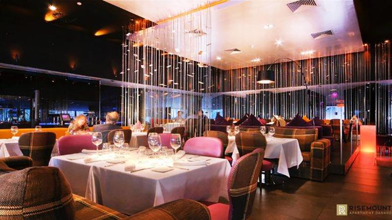 Nhà hàng sang trọng của dự án Risemount Đà Nẵng