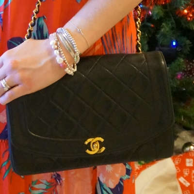 Chanel vintage quilted lambskin flap bag | AwayFromTheBlue