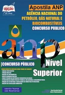 Apostila Agência Nacional do Petróleo Técnico Administrativo