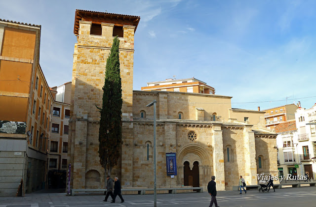 Iglesia de Santiago de Burgo, Zamora, románica de finales del siglo XI