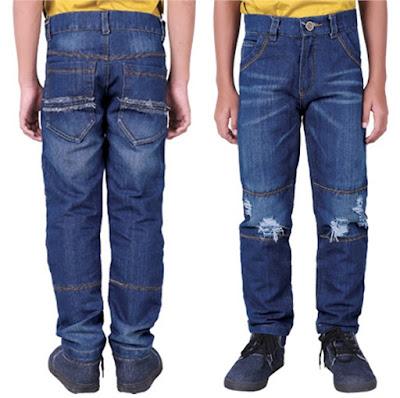 celana jeans, celana jeans anak, celana jeans sobek anak, celana jeans anak bandung