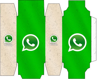 Cajas de WhatsApp para imprimir gratis.