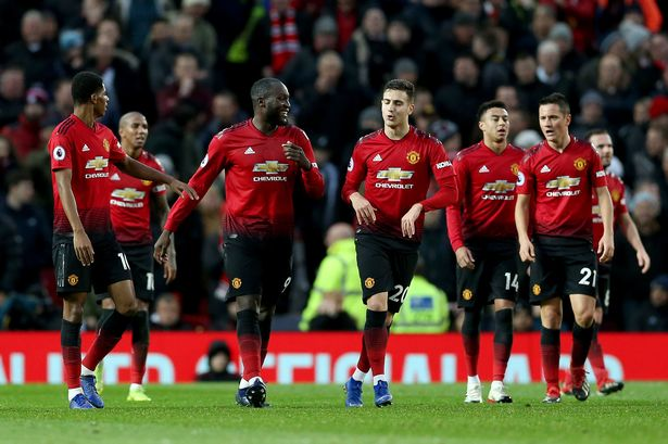 Daftar Pemain Manchester United vs Huddersfield Town