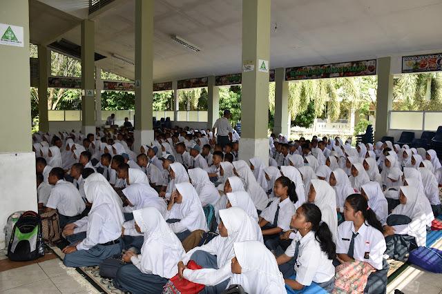 Ratusan Pelajar SMAN 2 Sekayu Diberi Penyuluhan Bahaya Narkoba