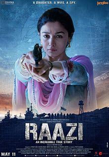 Sinopsis pemain genre Film Raazi (2018)