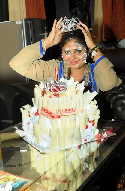 Neha Shree Birthday Cake Photo