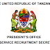 THE UNITED REPUBLIC OF TANZANIAPRESIDENT'S OFFICEPUBLIC SERVICE RECRUITMENT SECRETARIATNAFASI ZA AJIRA / KAZI UTUMISHI WA UMMA (WIZARA YA KAZI)