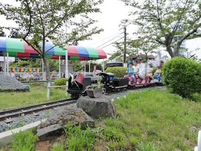 生駒山上遊園地 SL列車