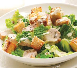 Simple Chicken Caesar Salad Recipe