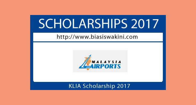 Malaysia Airports-KLIA Scholarship 2017