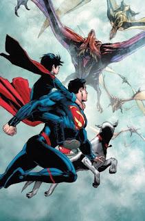 """Reseña de """"Superman vol.2: Las pruebas del Superhijo"""" de Peter J.Tomasi y Doug Mahnke - ECC Ediciones"""