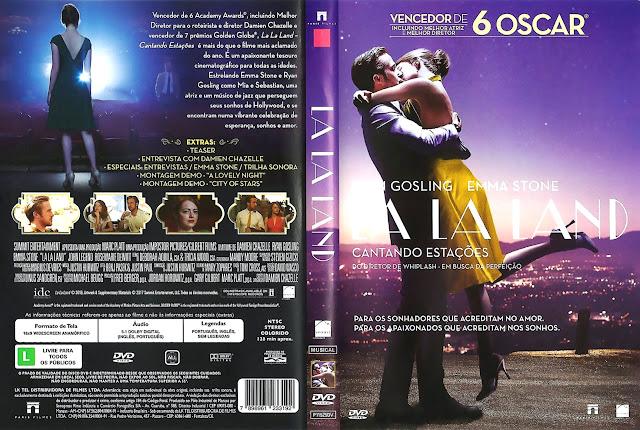 Capa DVD La La Land Cantando Estações (Oficial)