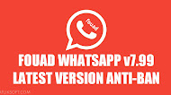 Download WhatsApp Mod Fouad WhatsApp v7.99 ANTI-BAN