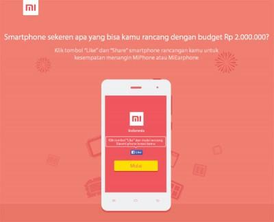 Xiaomi Resmi Hadir di Indonesia