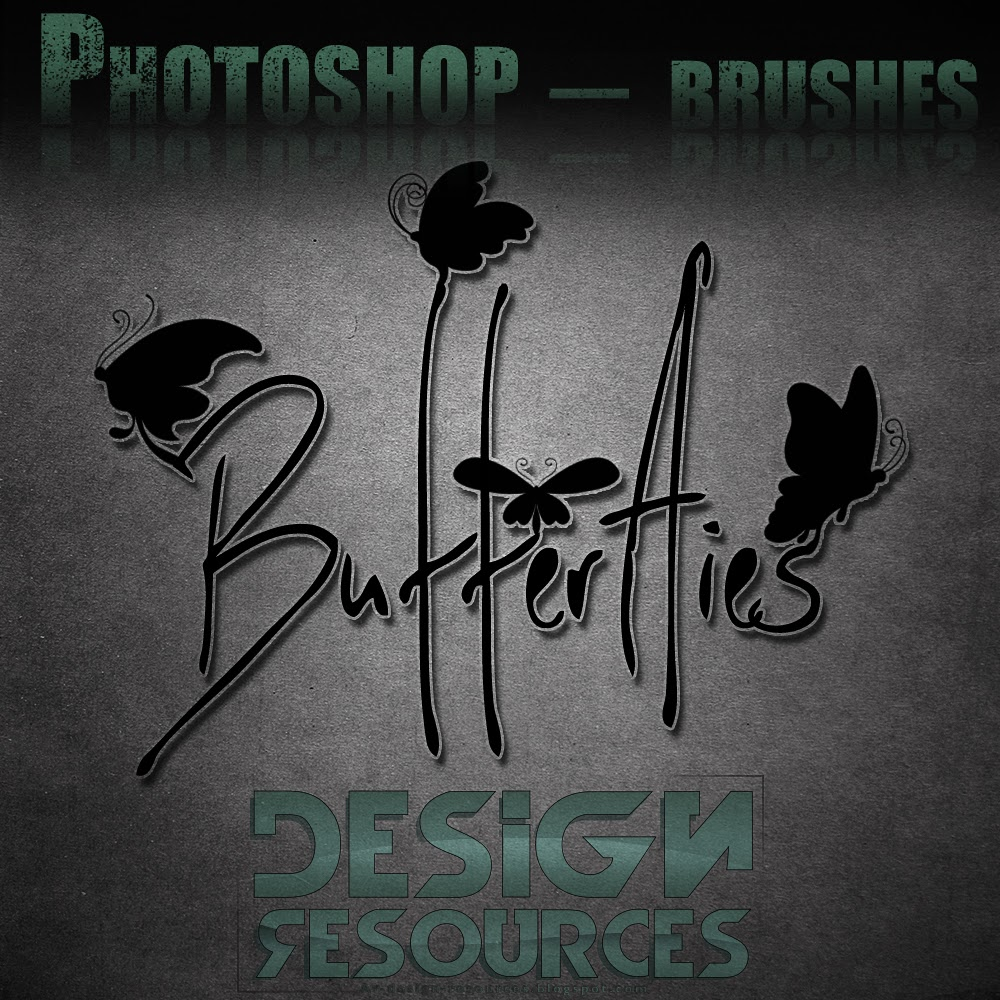 26 Butterflies brushes