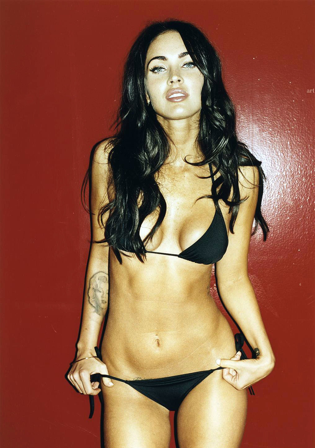 Foxy Megan Megan Fox Gq Magazine Oct 2008