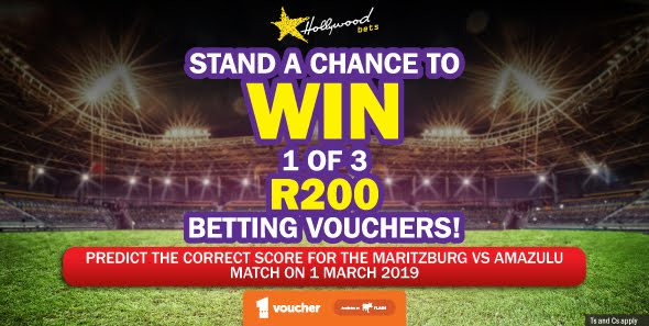 Hollywoodbets Sports Blog: Predict & Win: 1 of 3 R200 Betting