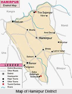 map of hamirpur,