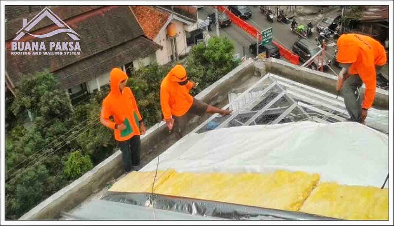 harga rangka atap baja ringan klaten jual murah pabrik distributor screw mur baut skrup ...