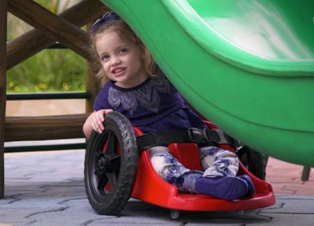 filha paraplégica