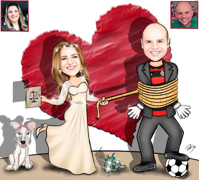 #convites #tags #totem #casamento #brindes #arte #art #futebol #ilustrador