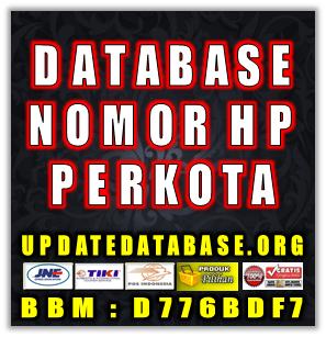 Jual Database Nomor Handphone Perkota