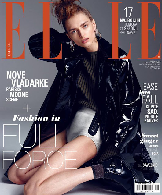Fashion Model, @ Daga Ziober for Elle Serbia September 2016