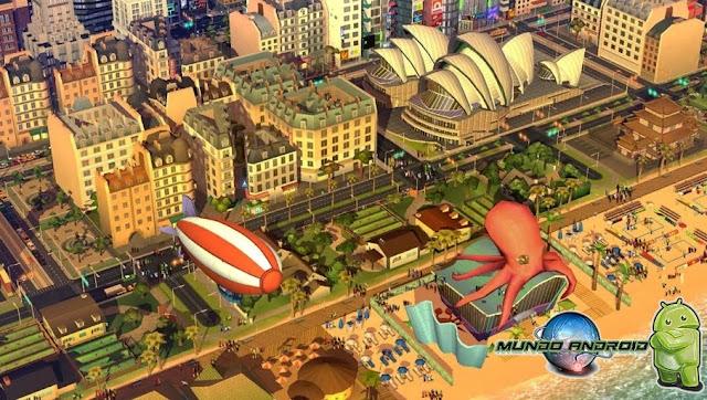 Jugabilidad de SimCity BuildIt