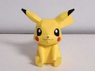 papercraft pikachu