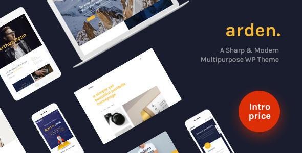 Arden - A Sharp & Modern Multipurpose WordPress Theme
