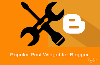 With Thumbnail and Auto Numbering Popular Posts widget for Blogger
