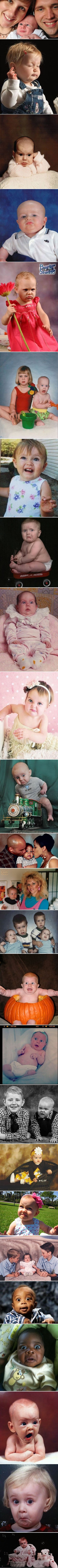 Funny Crazy Baby Photo Strip Pictures