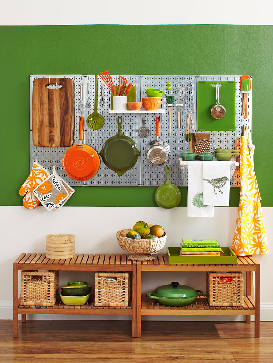 Ideas para mantener a mano los utensilios de cocina
