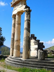 Temple of Athena - Delphi
