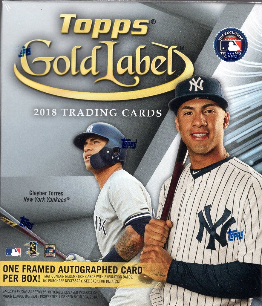2018 Topps Gold Label Review And Box Break Topps Hits Gold