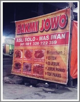 Bakmi Jowo Murah Asli Solo