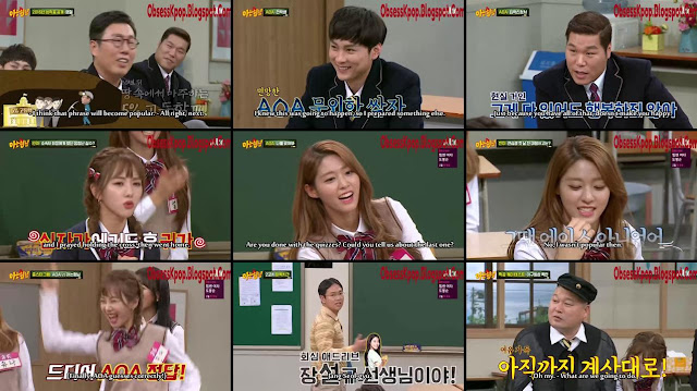 Knowing Brother Ep57 Eng Sub - AOA
