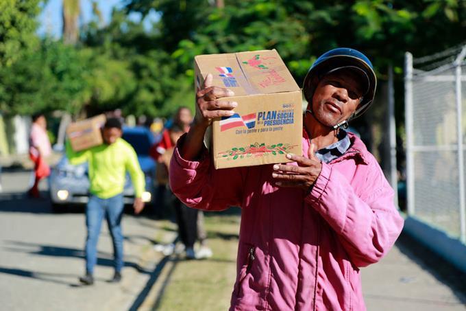 Hoy inicia repartición de RD$1,500 millones en cajas navideñas