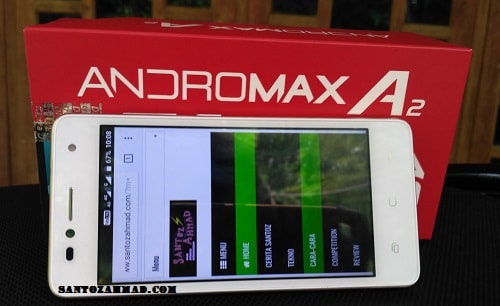 Review Smartfren Andromax A2, Baterai 4000 mAh